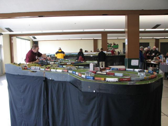 Photos from the Fredericton Model Train Show