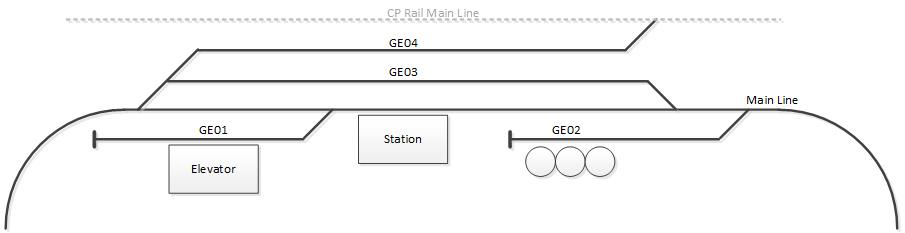 CN Georgetown Layout