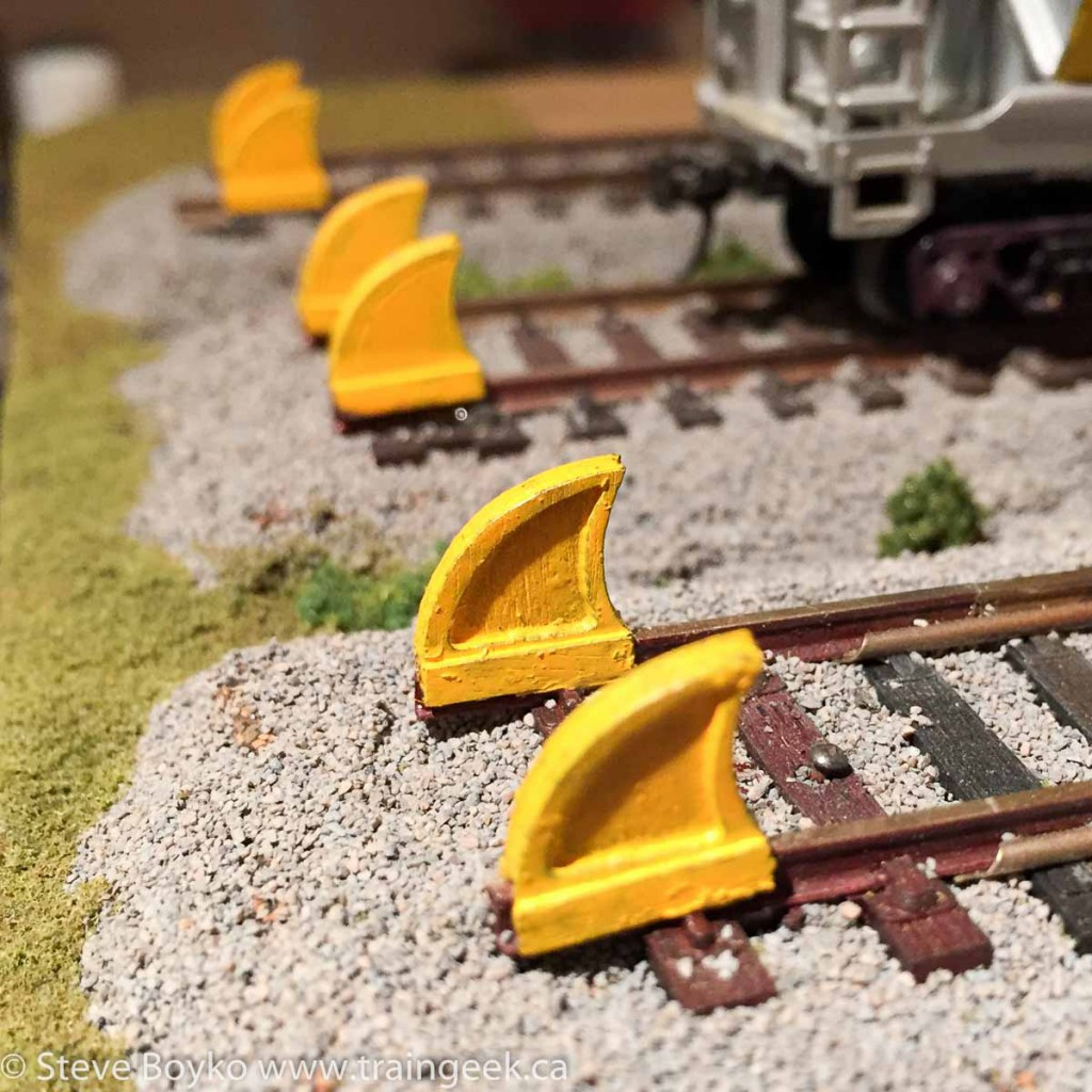 Osborn Model Kits Rail Stops
