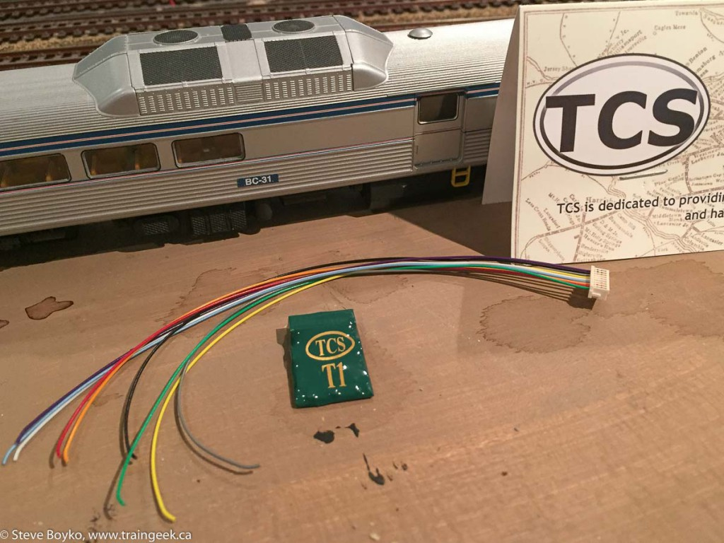 RDC and TCS T1 decoder