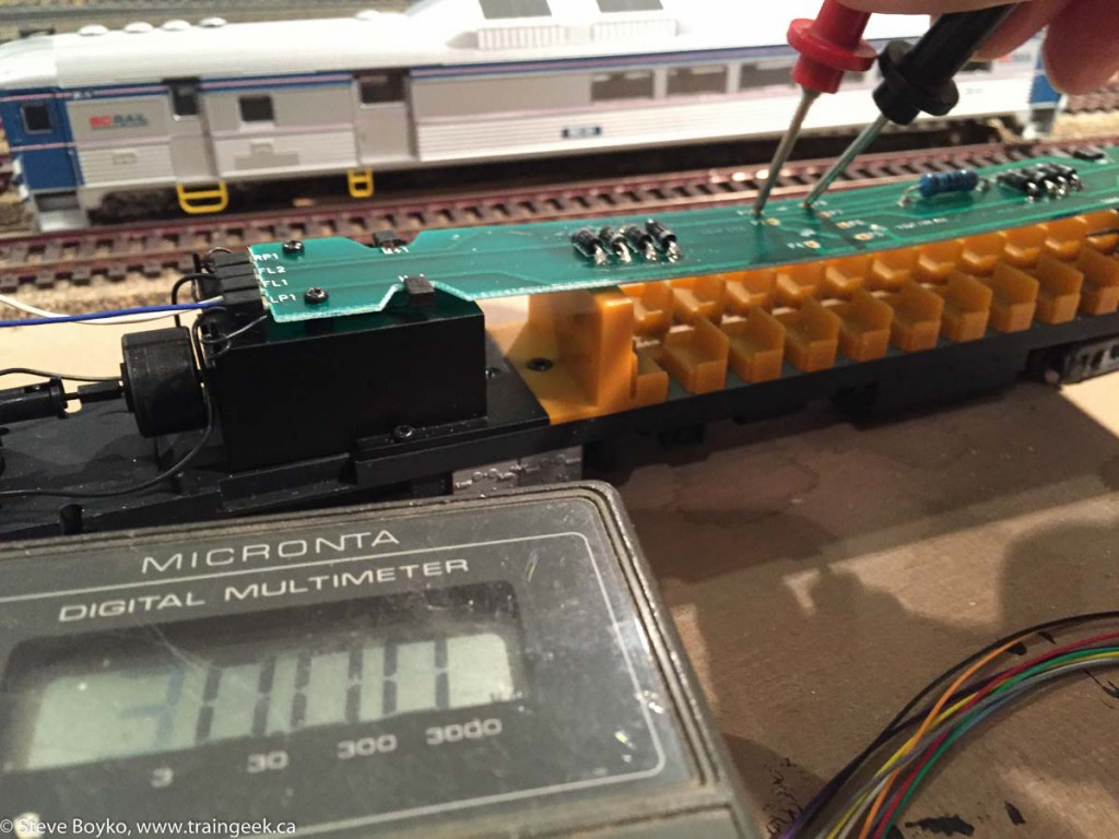 Measuring resistance with multimeter