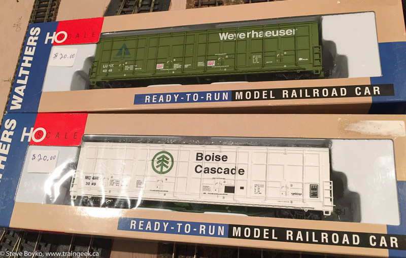 Walthers All-Door Boxcars
