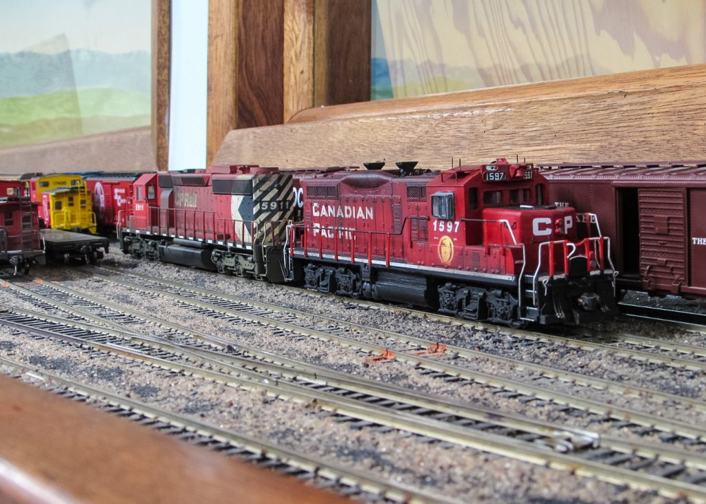 Braedan's CP 1597 and the Bowser CP 5911
