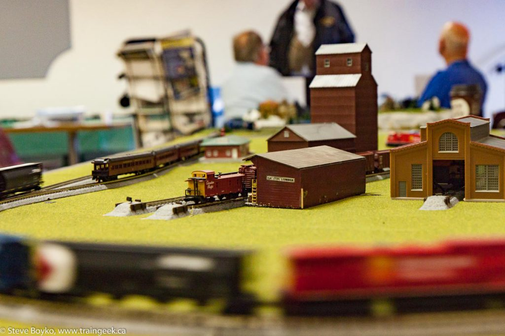 I liked this N scale layout.