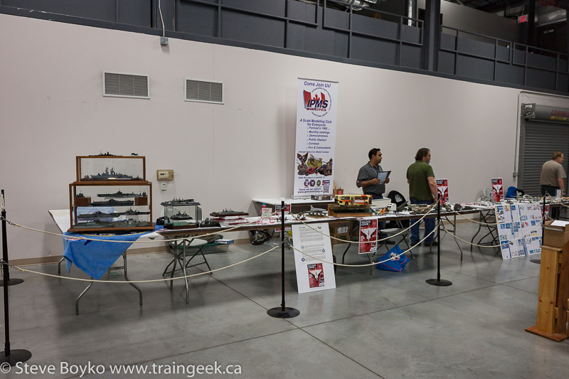 The IPMS (International Plastic Modellers Society) display