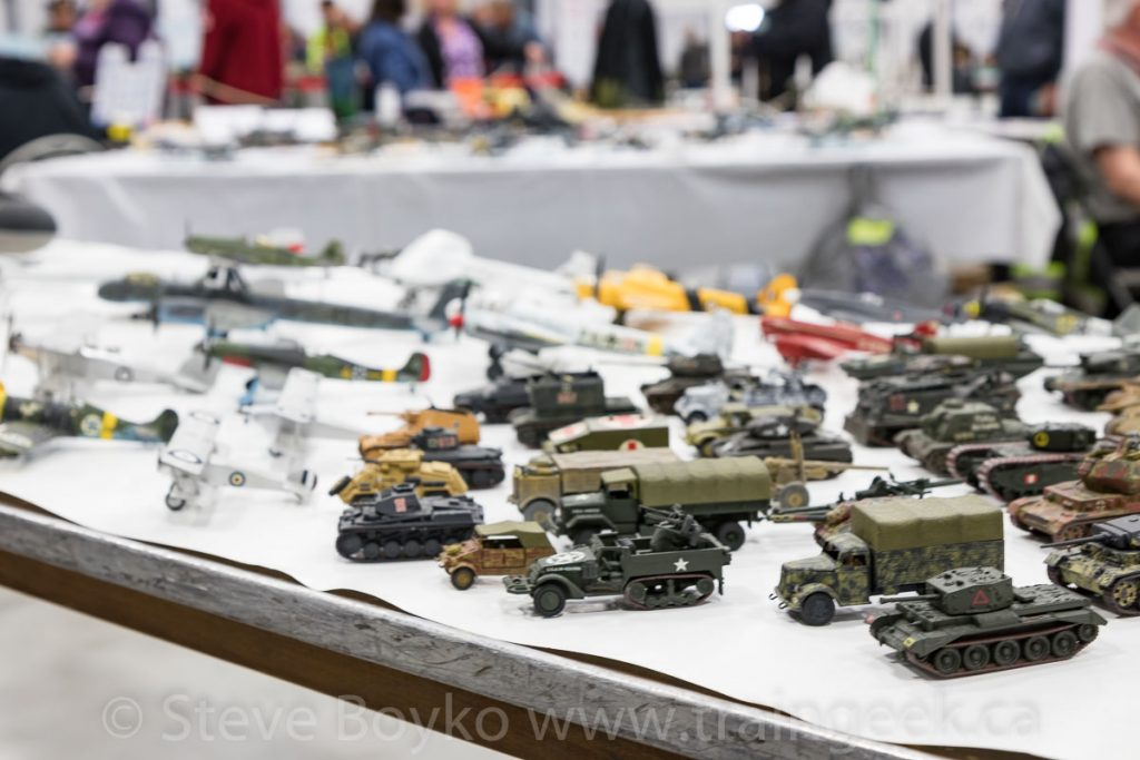 Models from the International Plastic Modellers Society