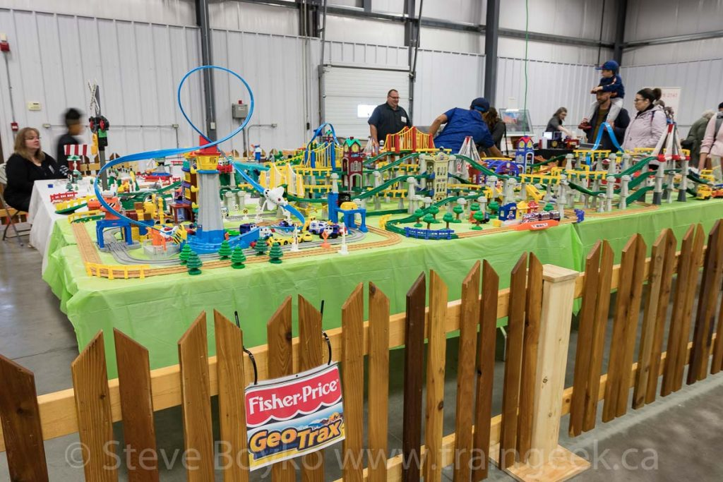 Fisher-Price GeoTrax was well represented