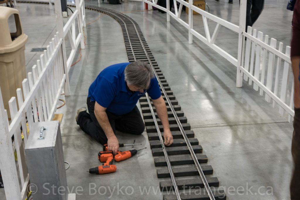 Even miniature railways need maintenance
