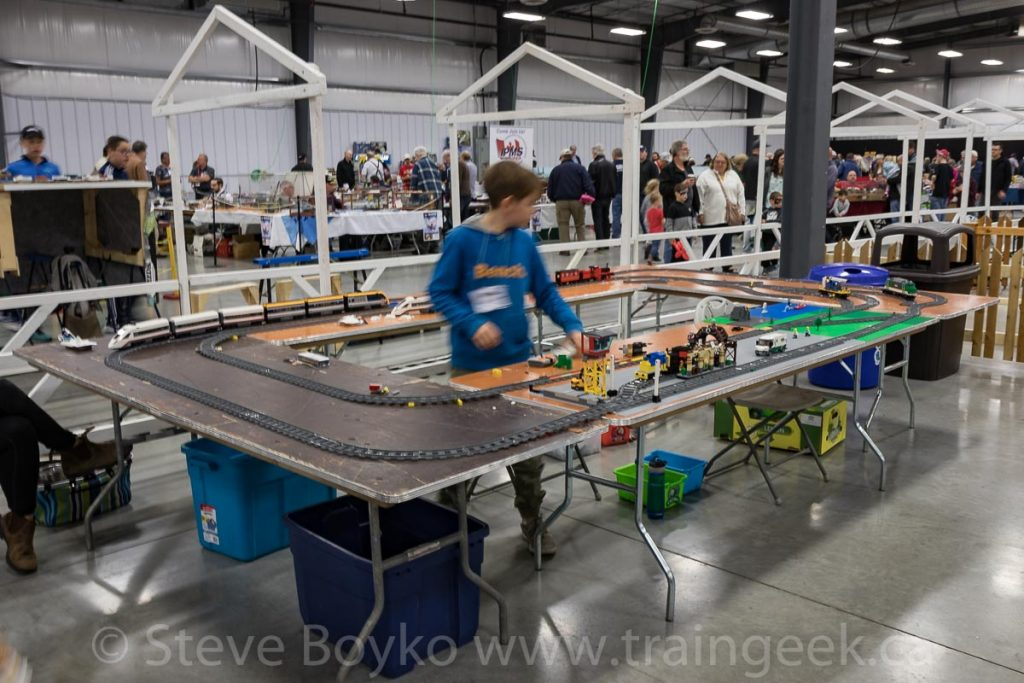 Running the Lego trains